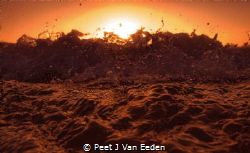 Blood on the water by Peet J Van Eeden