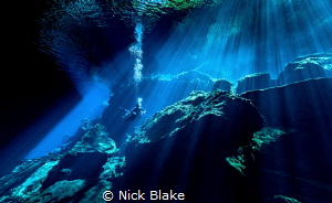 Kukulkan Cenote - Yucatan Peninsular, Mexico by Nick Blake