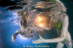 Swimming... by Sergiy Glushchenko