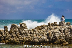 Clash of the Giants. Where the Atlantic and Indian oceans... by Peet J Van Eeden