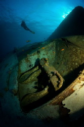 Safaga. Poseydonia (AL Kahfain) wreck. by Dmitry Vinogradov