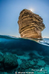 Le grain de sable :Bonifacio by Jérome Mirande