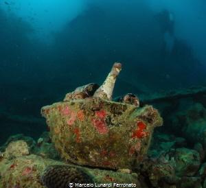 Drink in the wreck by Marcelo Lunardi Ferronato