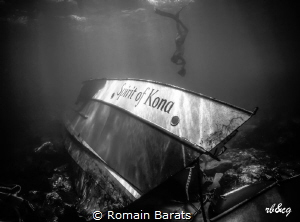 a ghost behind the wreck by Romain Barats