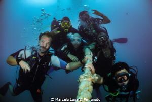 Divers friends by Marcelo Lunardi Ferronato