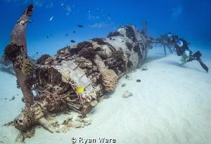 CorsairWreck Oahu, HI by Ryan Ware