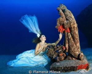 """Prayer"" is shot on the island of Tenerife, at 32.70m dep... by Plamena Mileva"