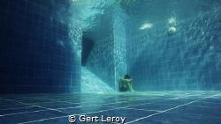 taken with gopro hero 4 silver. Swimming pool Tulamben Pa... by Gert Leroy