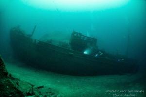 German WW2 Wreck Jan Hubert, it is 55 meter long and the ... by Rene B. Andersen