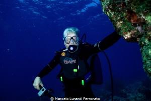Old diver by Marcelo Lunardi Ferronato