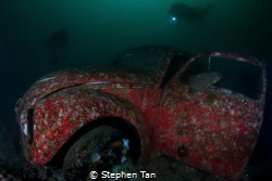 Volkswagen Beetle attracts more attention underwater than... by Stephen Tan