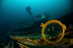 HMS Defence WW1 Wreck from the Battle of Jutland. by Rene B. Andersen