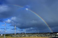 Rainbow over Inis Meain, Aran Islands. The following day... by Mark Thomas