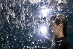 Freediver by Sergiy Glushchenko