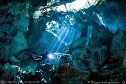 Cenote Dos Ojos by Pietro Cremone