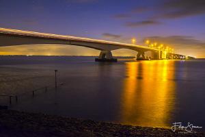 """The bridge"". Netherlands most famous dive site: the Zeel... by Filip Staes"