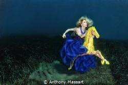 Under water riding by Anthony Massart