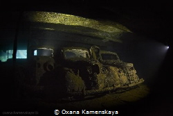 Cars. SS Umbria. Port-Sudan. by Oxana Kamenskaya