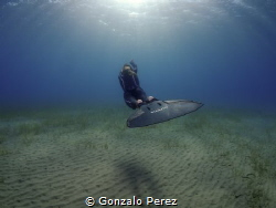 Freediver by Gonzalo Perez