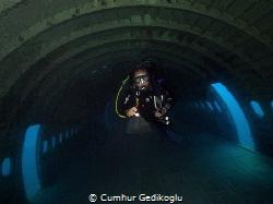 Airbus A300 NEOPOLIS wreck is 5min from the Korumar Bay. by Cumhur Gedikoglu