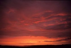 Sunset over Inis Airc, Connemara. F90X, 16mm. by Mark Thomas
