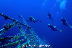 Divers Descend to the wreck of the Numidia For an adventu... by David Gilchrist