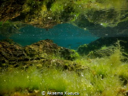 """Close to the seashore of the island """"the ground and the r... by Aksems Kuzucu"""