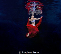 Red on Blue by Stephan Ernst