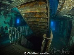 Karwela Wreck on Gozo - Staircase to heaven. by Christian Llewellyn