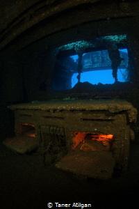 Burning oven of Chrisoula K by Taner Atilgan