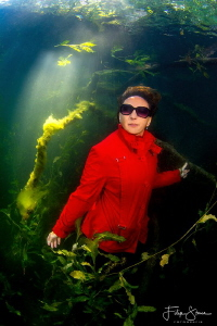 """Jungle red"", Put van Ekeren, Belgium, model: Marlène Ter... by Filip Staes"