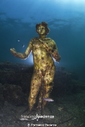 Archaelogical Roman Park underwater. by Francesco Pacienza
