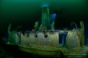 Helga Ferdinand WW2 Wreck in Norway. It is the remains o... by Rene B. Andersen