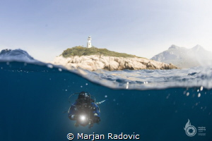 """LIrica"" Lighthouse by Marjan Radovic"