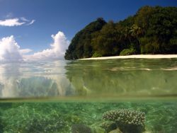 Ulong island in Palau where some of the Survivor series w... by Alex Tattersall