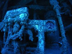 Pressure too low. Detail of one of the wrecks in the sout... by Arthur Telle Thiemann