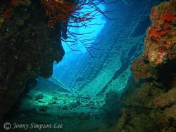 The Wreck of the Carnatic. Using Sea&Sea DX-8000G with YS... by Jonny Simpson-Lee