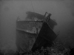 This photo is of the Mr Bud, a wreck off the southern coa... by Steven Anderson