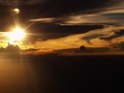 Flying back from Palau I looked out of the plane window a... by Alex Tattersall