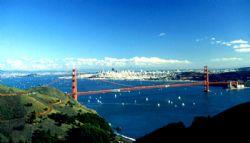 'I LEFT MY HEART..' San Fran from the Marin Headlands. Ni... by Rick Tegeler