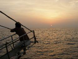 Sunset near the Similan islands by Gordana Zdjelar