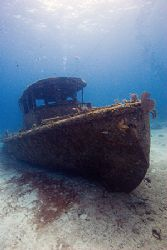 Wreck taken off the coast of Grand Bahama by Michael Shope