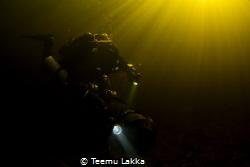 Lake Paijanne, underwater scooter ride. by Teemu Lakka