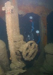 Unidentified creature in the depths of the James Eagan La... by Mark Thomas