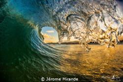 Wave Corsica island by Jérome Mirande