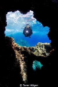 Cavern from Kemer/Antalya by Taner Atilgan