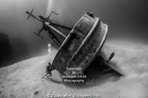 """OCD Diver Tries To Right Shipwreck""  Kittiwake shipwre... by Susannah H. Snowden-Smith"