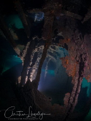 The wreck of the HMS Maori - HMS Maori was a Tribal-class... by Christian Llewellyn