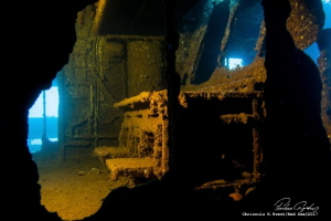 Chrisoula K. Wreck in Nort Red Sea , No Crop , Videolight... by Ferhan Coskun