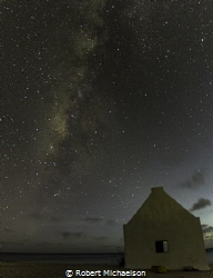 The Milky Way at dive site White Slave on Bonaire by Robert Michaelson